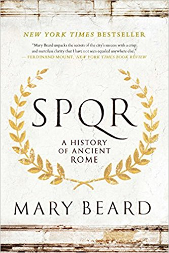 book cover of SPQR by Mary Beard